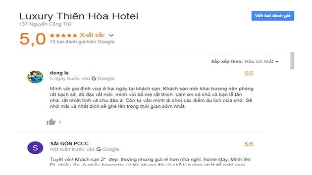 Đánh Giá Khách sạn Thiên Hòa Luxury Đà Lạt