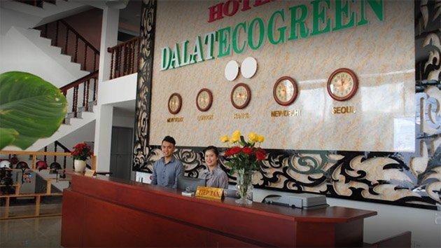 Khách Sạn Dalat Eco Green Tuyển Dụng