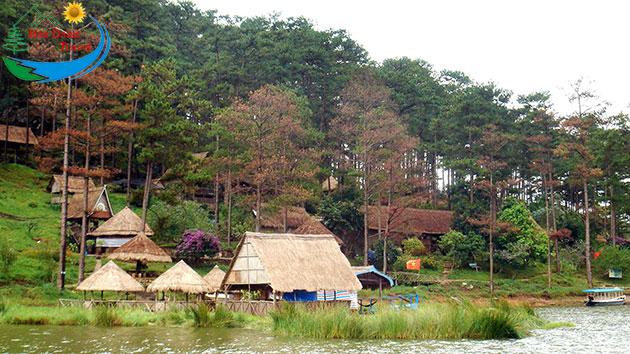 Tham Quan Hồ Tuyền Lâm Đà Lạt