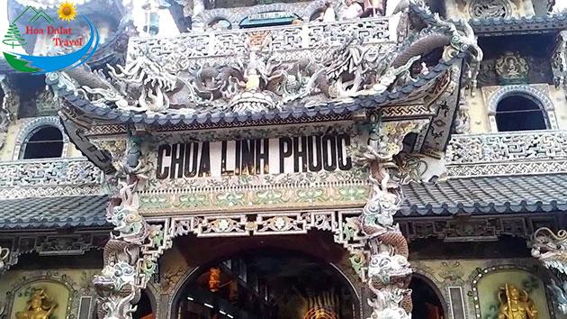 Tour Chùa Linh Phước Đà Lạt