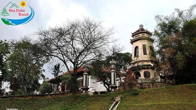 Tour Chùa Linh Sơn Đà Lạt