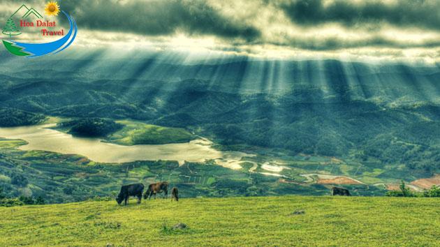 Vị Trí Núi Langbiang Đà Lạt